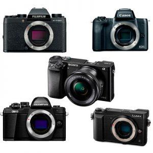 Top 5 Entry-Level Mirrorless Cameras
