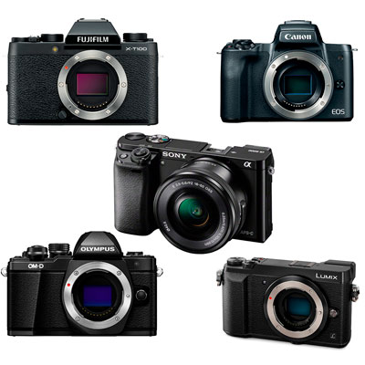 Top 5 Entry-Level Mirrorless Cameras