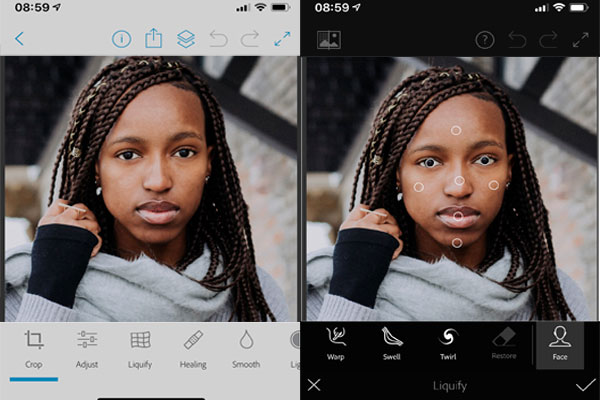 Photoshop Fix app