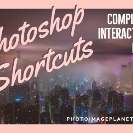 Photoshop CC Shortcuts for PC and Mac