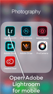 How to install presets for Lightroom Mobile 1