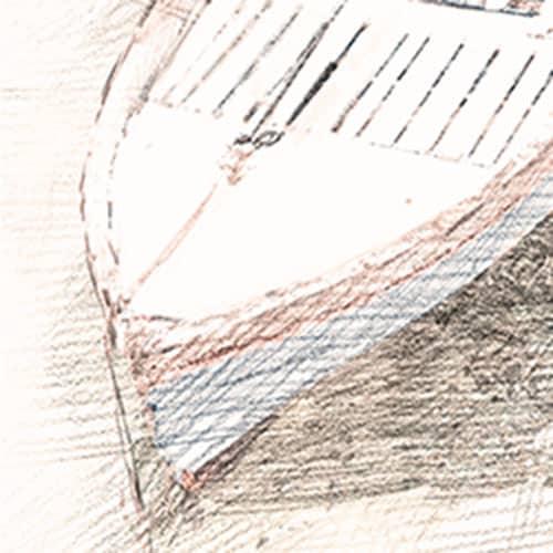 Digital Drawing - Port of Naples Detail 1