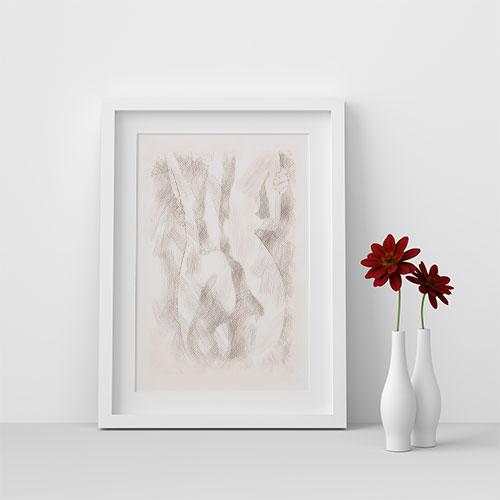 Printable Art - Nude Wall Art #3