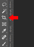 How to add a watermark - Move Tool